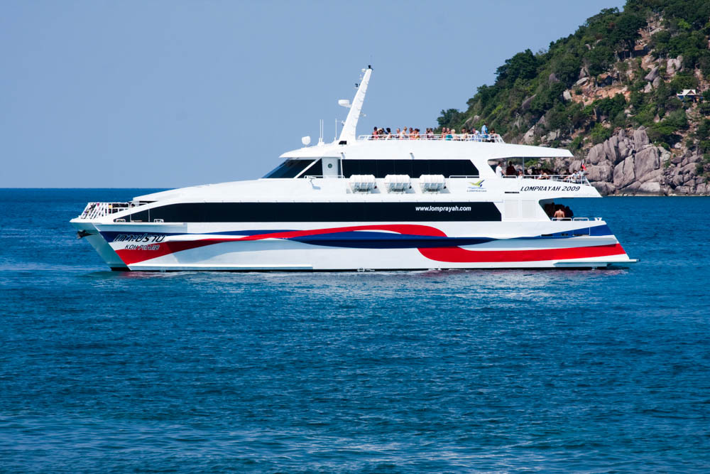 Bus and boat transfer to the islands from Bangkok, Hua Hin and Chumpon