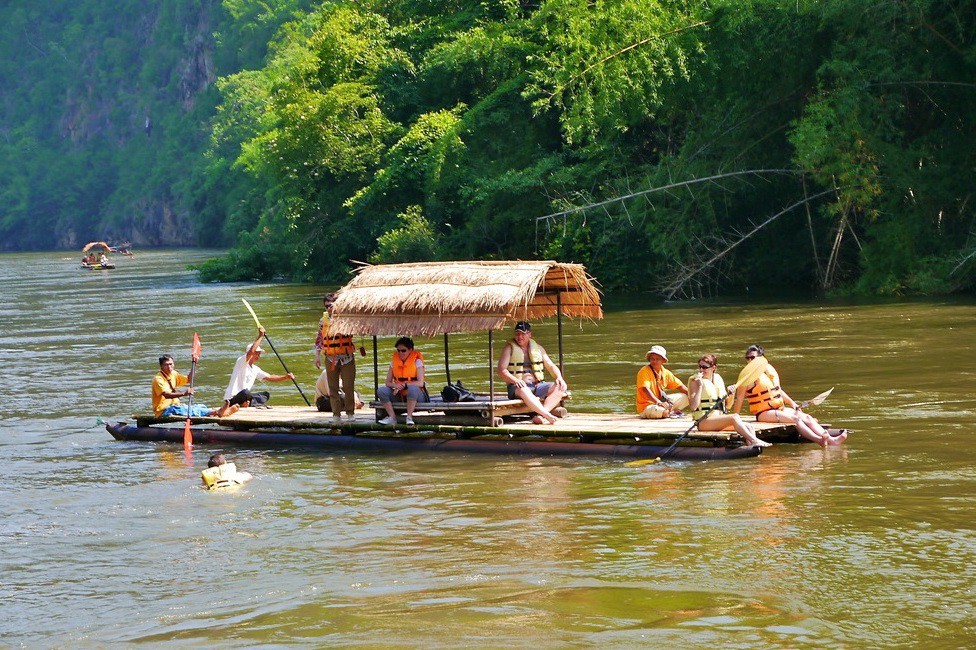 River Kwai  with elephants, longtail boat & waterfalls (3 Days)