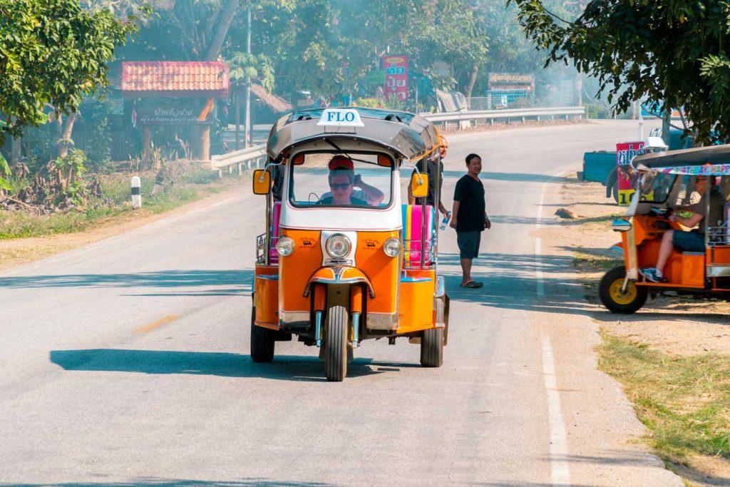 Drive your own Tuk Tuk in Chiang Mai